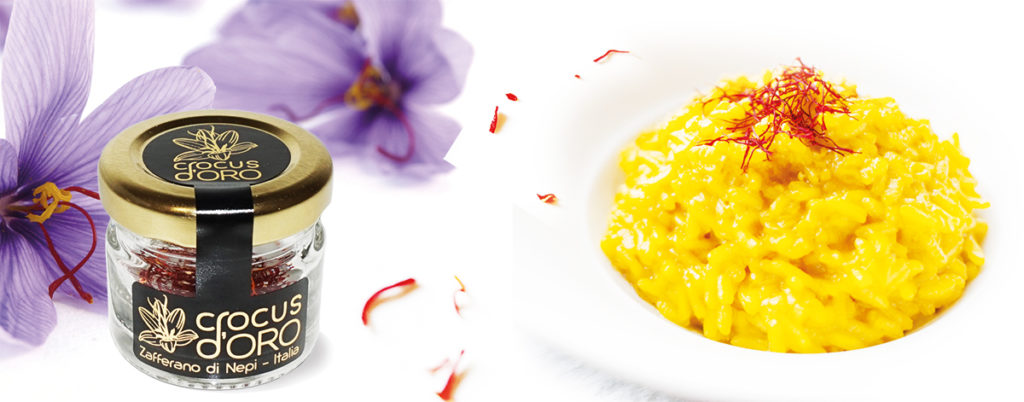 Crocus d'oro, Zafferano di Nepi, Risotto