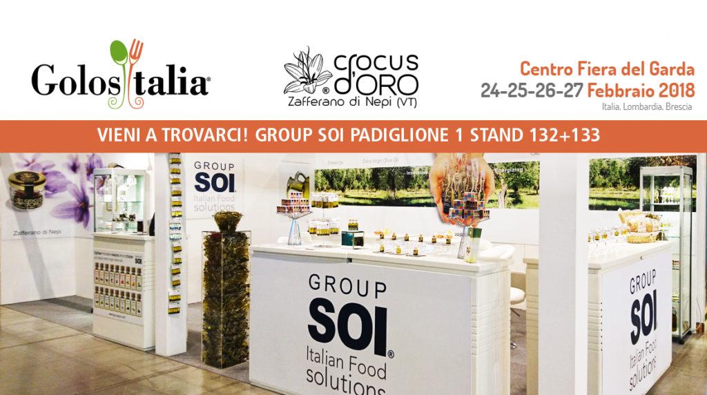 Crocus d'oro a Golositalia 2018