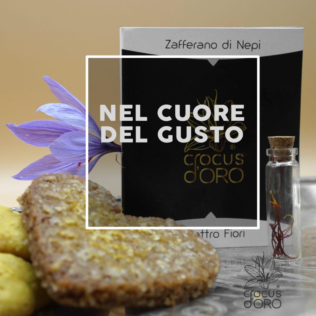 biscotto, biscuit, zafferano, saffron, Nepi, Tuscia, flower, fiore