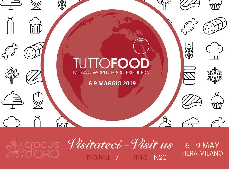 group soi, tutto food, 2019, tuttofood, fiera, milano, milan, crocus, zafferano, saffron, crocus d'oro