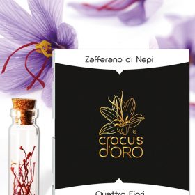 Crocus D'oro, Zafferano di Nepi, Zafferano Italiano in Pistilli